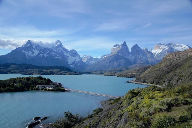 chili, parc national, amérique du sud, montagnes, lac ,