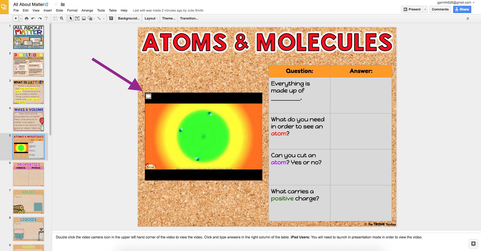 using activities in google slides on an ipad the techie teacher
