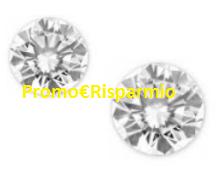 Logo Con Mentadent vinci 9 girocollo in oro e un diamante da un carato