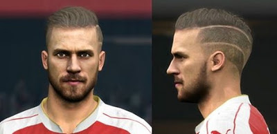PES 2016 Aaron Ramsey face