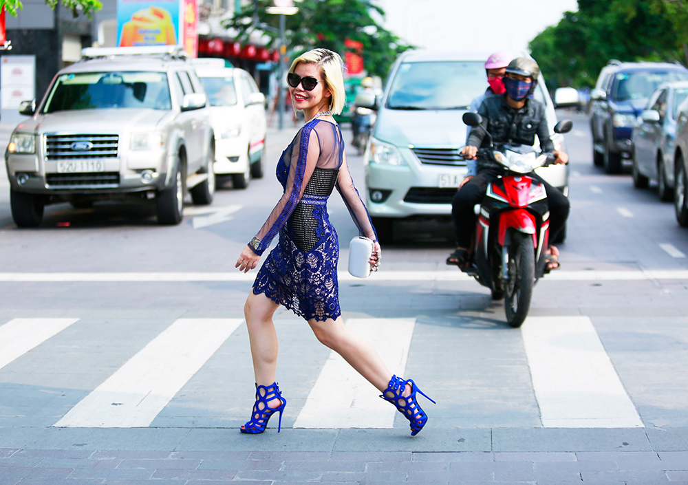 Crystal Phuong- Vietnam Fashion Week Streetstyle day 2