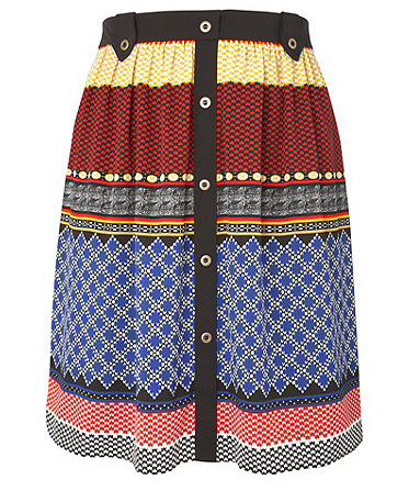 4b66a71c5e3 This mexican-inspired skirt from Debenhams   Gorgeous  range (sizes 16 -  26) is totally risk-free