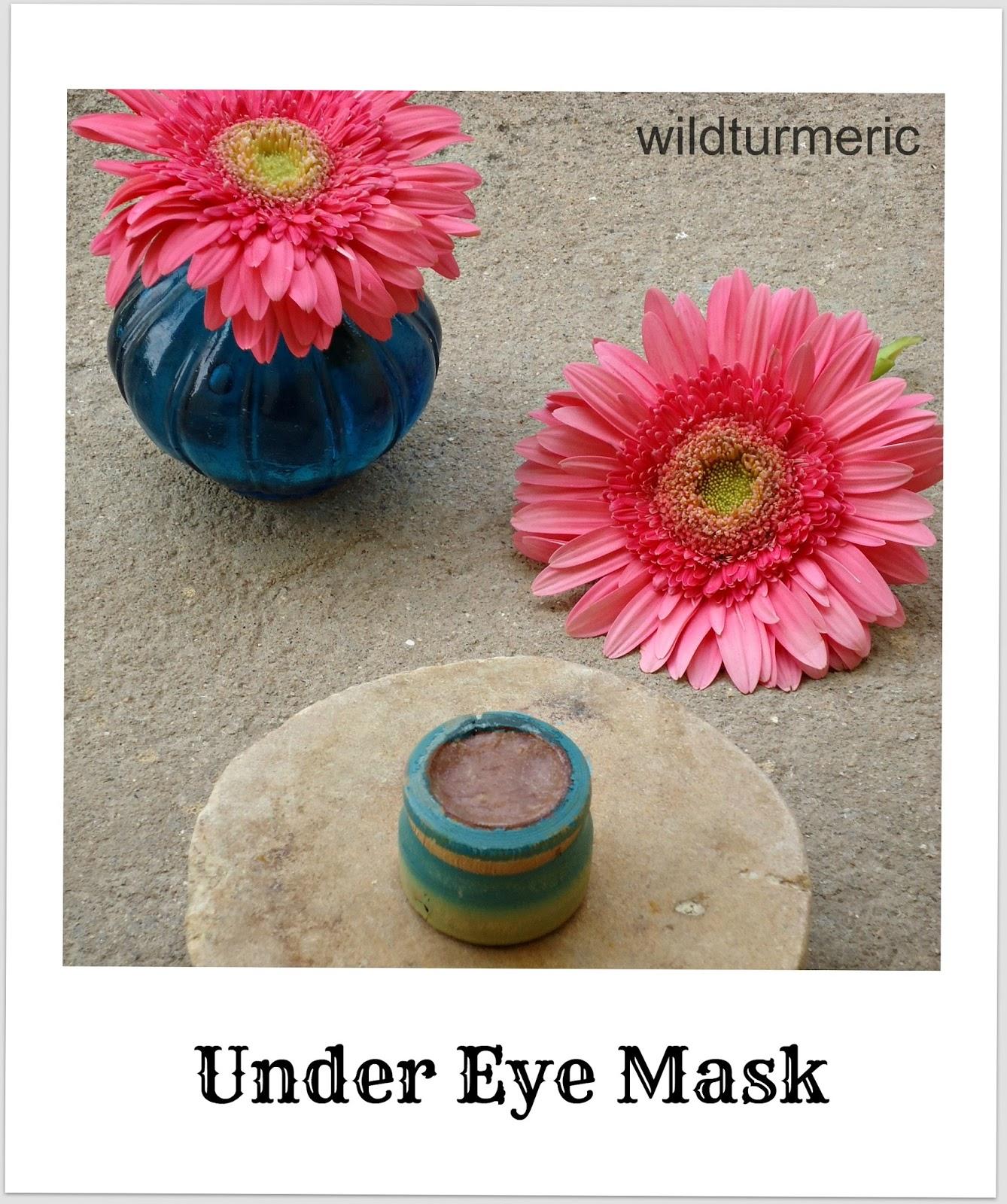 Diy Homemade Malai And Dates Eye Mask Recipe Wildturmeric