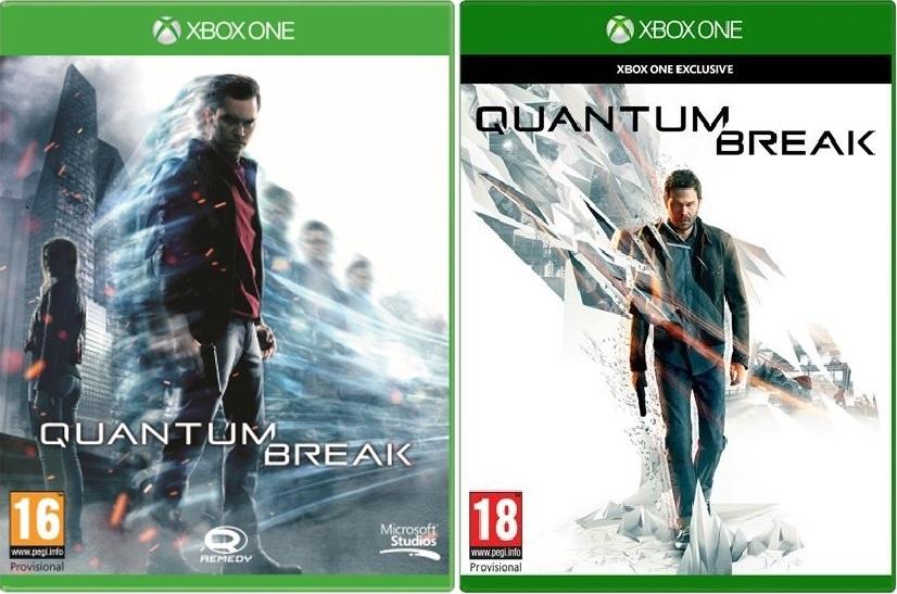Microsoft Changed Quantum Break S Cover Art Mr T3 Rocks