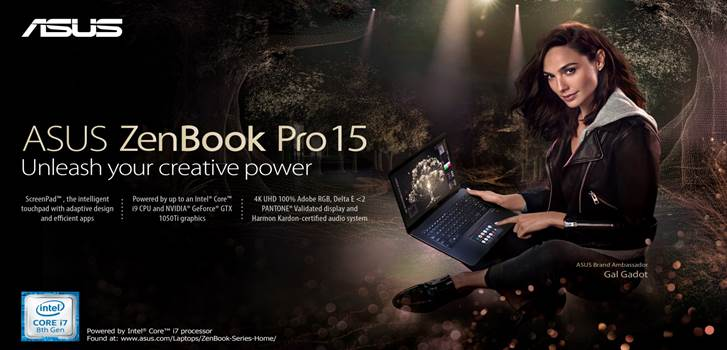 Asus ZenBook Pro 15 UX580 Unveils in PH; Price Starts at Php109,995!