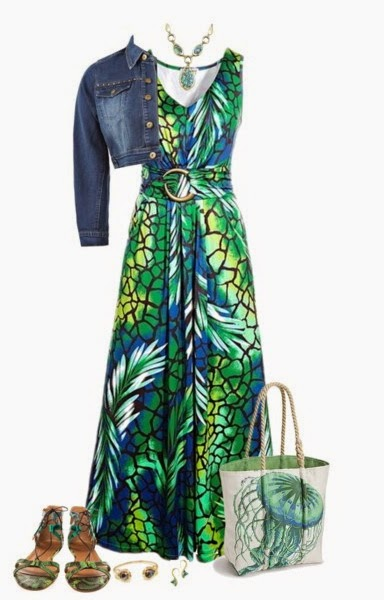 Plus Size Floral Maxi Dresses For Spring Summer 2015 Http