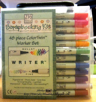 Zig Scrapbooking Kit Marker Set