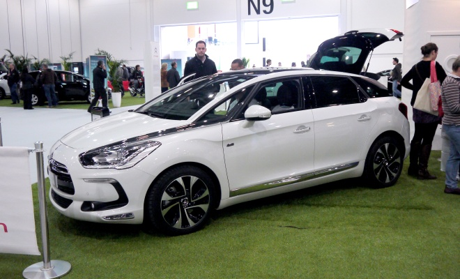 Citroen DS5 at EcoVelocity