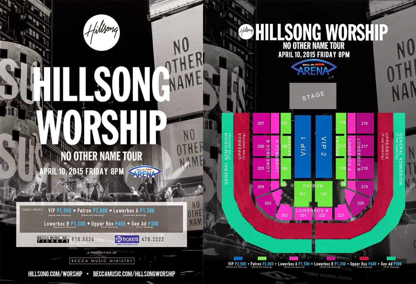 Hillsong Worship Live in Manila April 2015