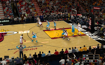 NBA 2K13 American Airlines Arena Court Download Patch