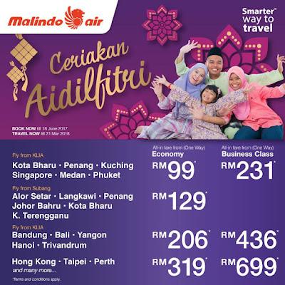 Malindo Air Flight Ticket Raya Sale Deals