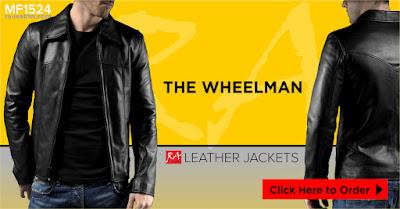 Jaket Kulit Wheelman