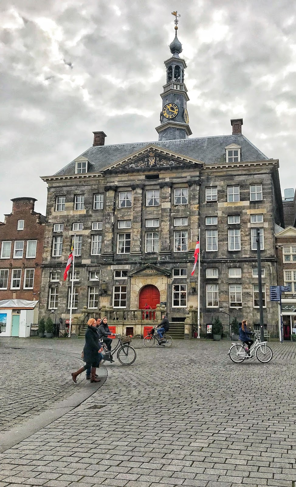 Traditional Dutch architecture in Den Bosch
