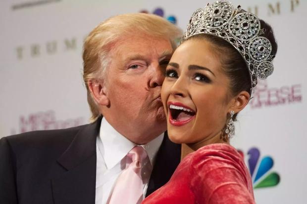 Трамп на конкурсе красоты