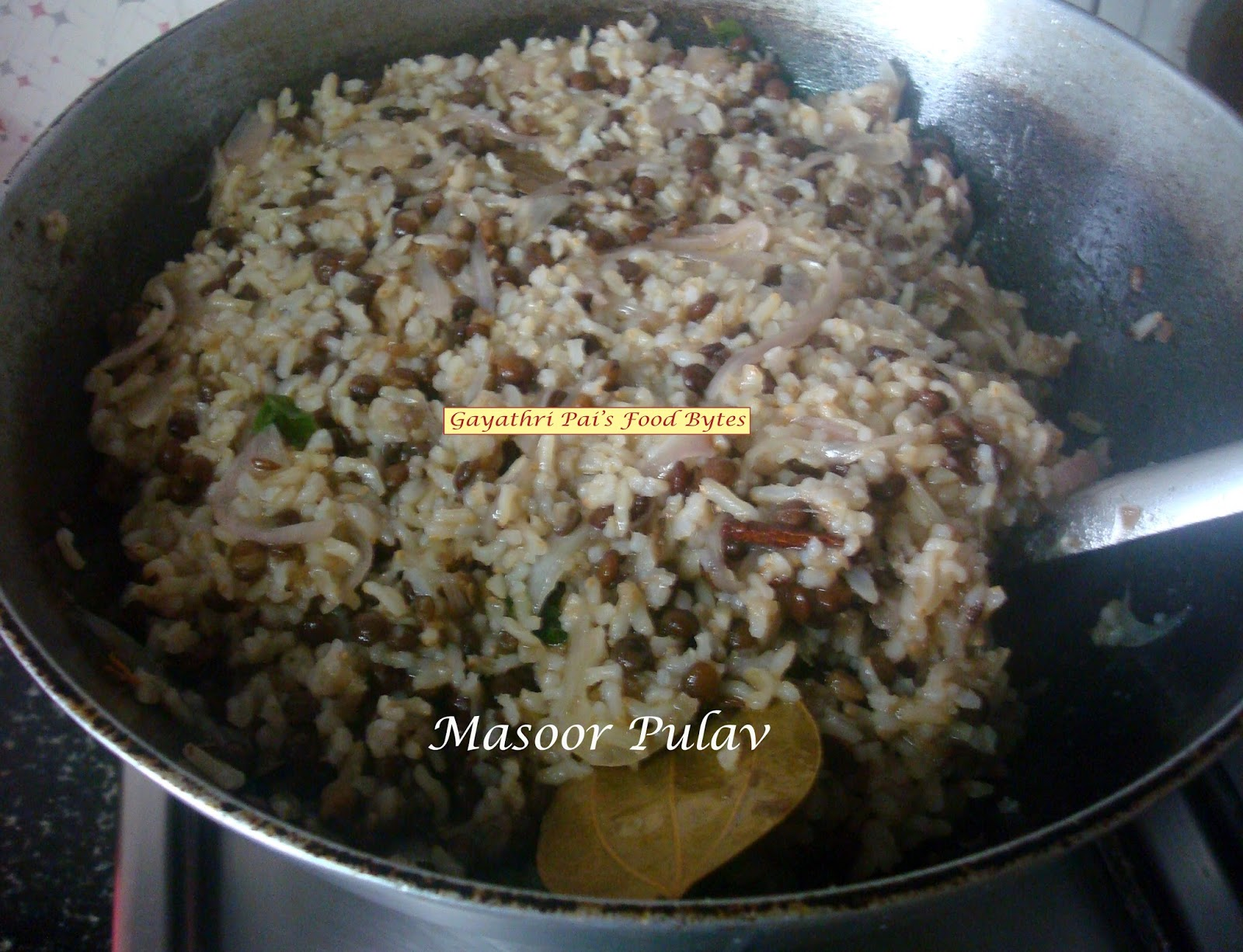 Brown Basmati Rice In Pan Download How To Cook Add In The Cooked Masoor,  Salt To Taste And Mix Well Lower The Heat And