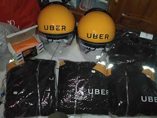 Tempat Pengambilan Atribut Uber Motor