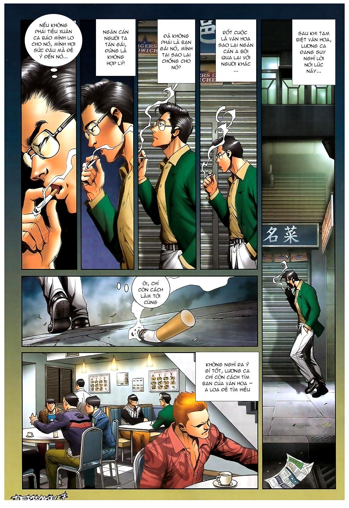 Người Trong Giang Hồ - Chapter 1372: Làm dữ - Pic 5
