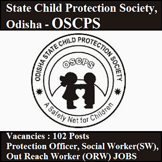 Odisha State Child Protection Society, OSCPS, SARA, Odisha, Graduation, Protection Officer, Social Worker, freejobalert, Sarkari Naukri, Latest Jobs, oscps logo