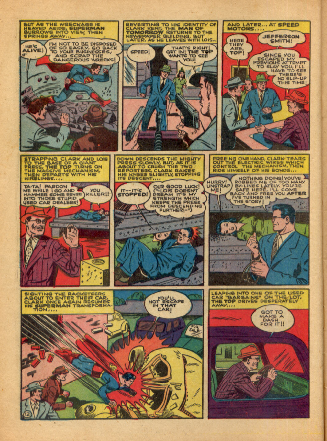 Read online Action Comics (1938) comic -  Issue #48 - 14