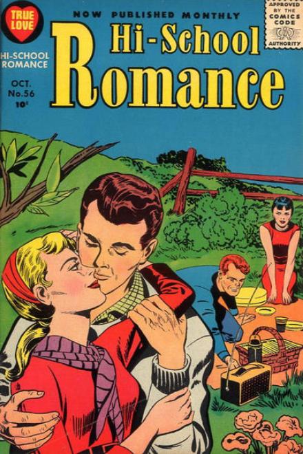 Simon-Kirby Romance Harvey Comics