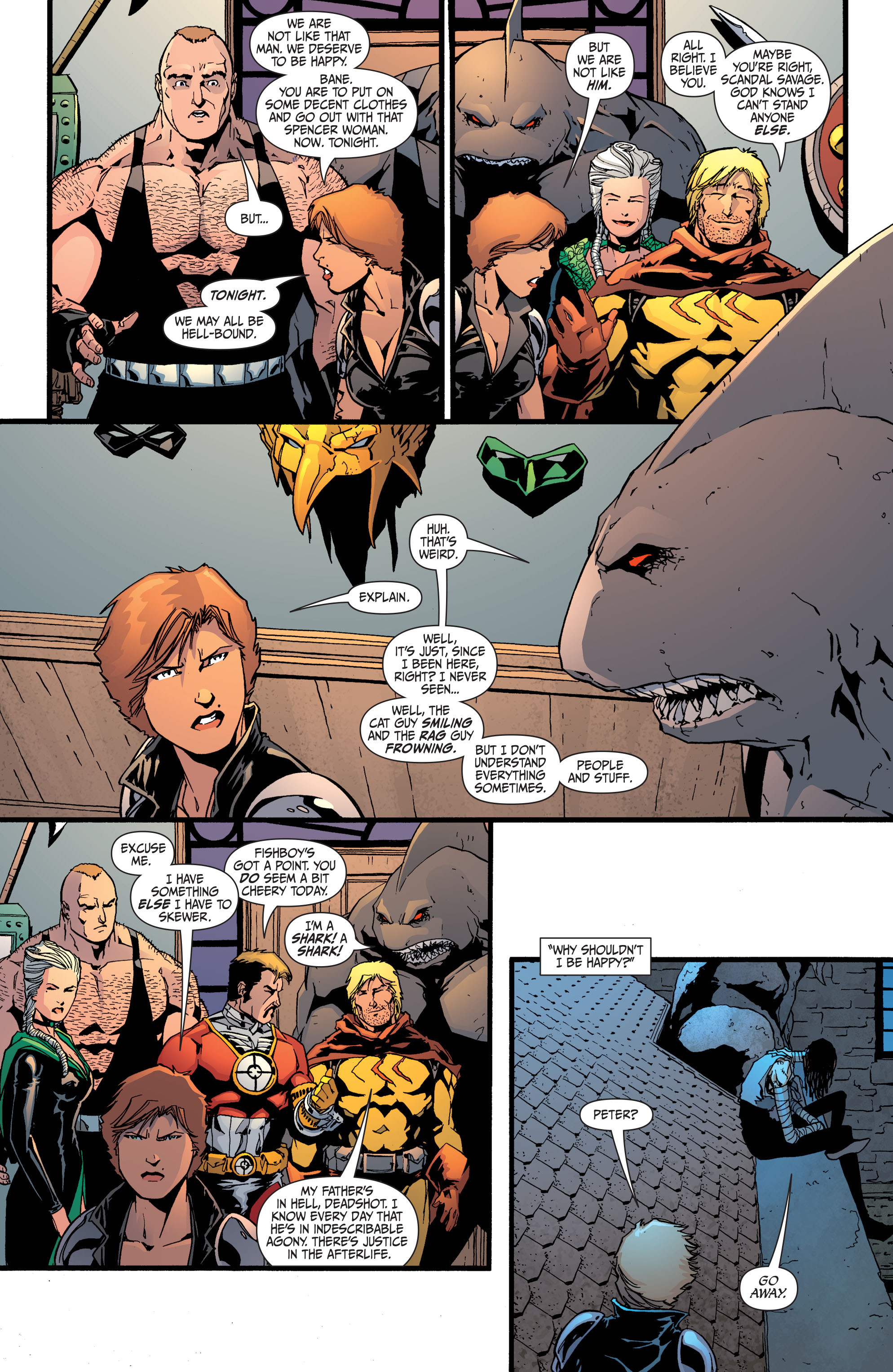 Read online Secret Six (2008) comic -  Issue #34 - 13