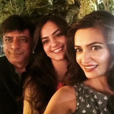 Kriti Kharbanda with her father