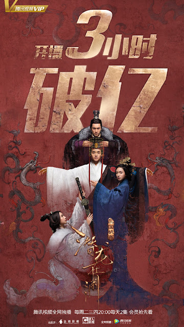 Secret of the Three Kingdoms day 1 Ratings