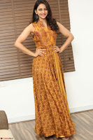 Rakul Preet Singh smiling Beautyin Brown Deep neck Sleeveless Gown at her interview 2.8.17 ~  Exclusive Celebrities Galleries 023.JPG