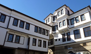 Casas típicas de Ohrid.