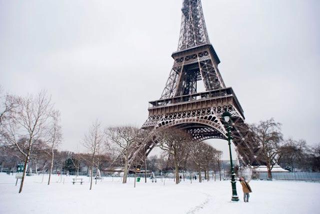 Κλειστός ο Πύργος του Άιφελ λόγω πάγου