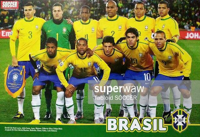 Brasil 2010 Team Squad