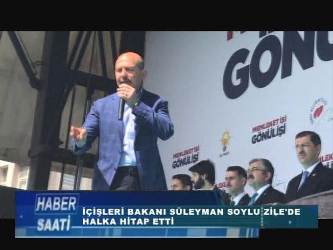 İçişleri Bakanı Süleyman Soylu Zile ilçesinde halka hitap etti. 1. bölüm