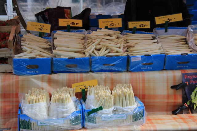 Gli asparagi bianchi tipici della Foresta Nera