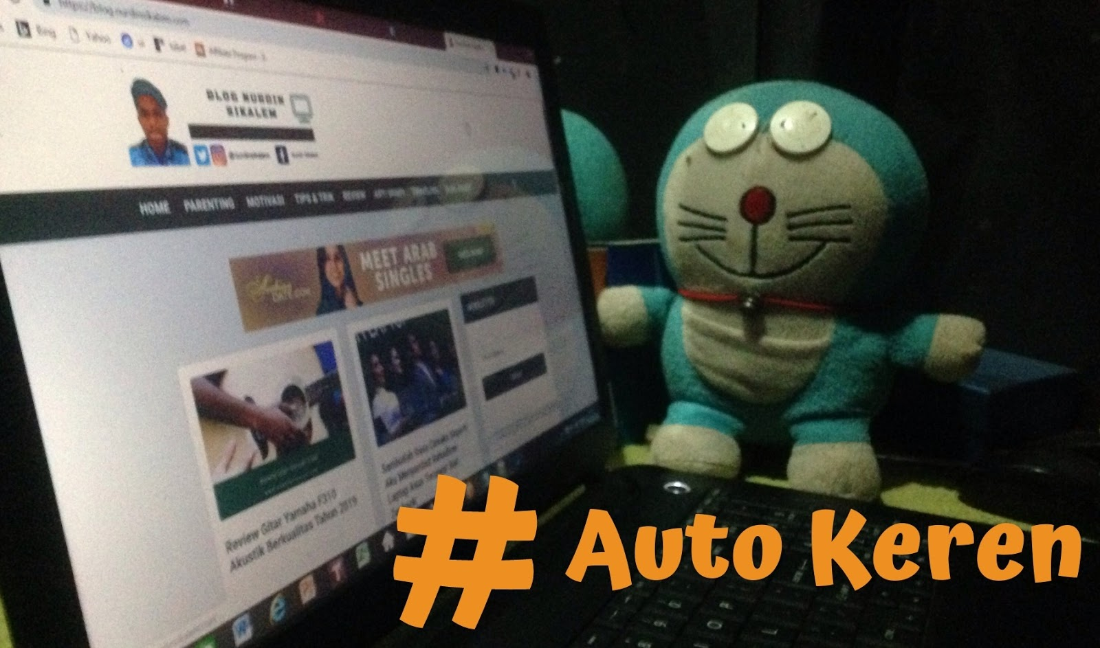 Auto keren jadi blogger