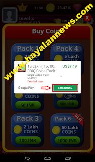 Cara efektif dan gratis mendapatkan 15 lakh coin game ludo bing
