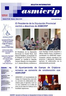 Asmicrip presenta su Boletín Digital de Noticias y actividades en este nuevo número 24 de su revista: - See more at: http://cocemfeasmicripcampodecriptana.blogspot.com.es/search?updated-max=2016-03-31T09:39:00%2B02:00&max-results=6#sthash.hWZpWuEt.dpuf