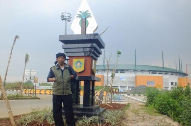 Tugu Tungul Kawung Hiasi Batas Wilayah Kabupaten Bogor
