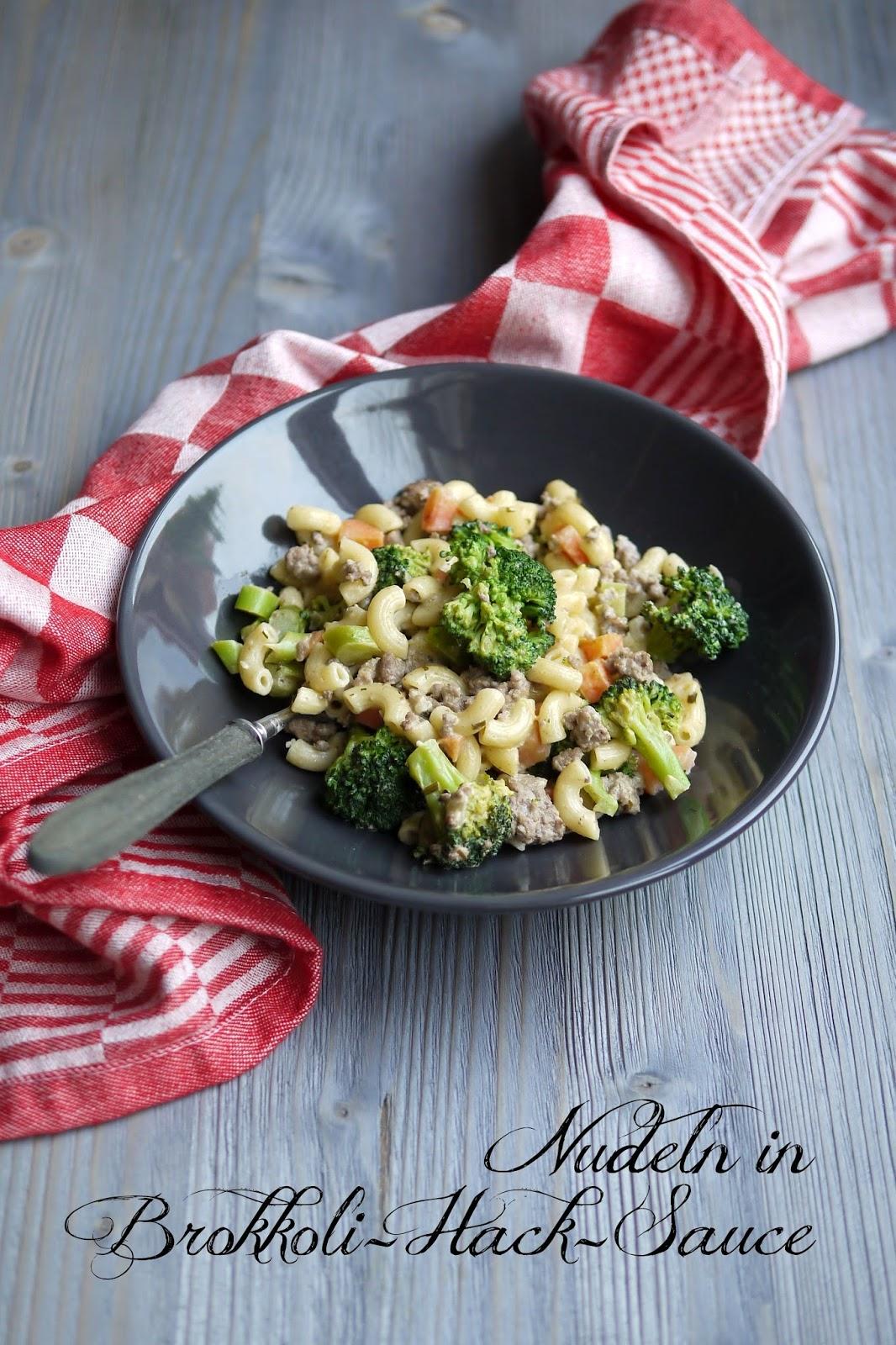 Nudeln mit Brokkoli-Hack-Sauce | Rezept | Kochen | Essen | Pasta