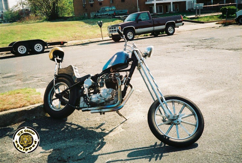 Oliver S Vintage Cycle Corner Triumph Chopper