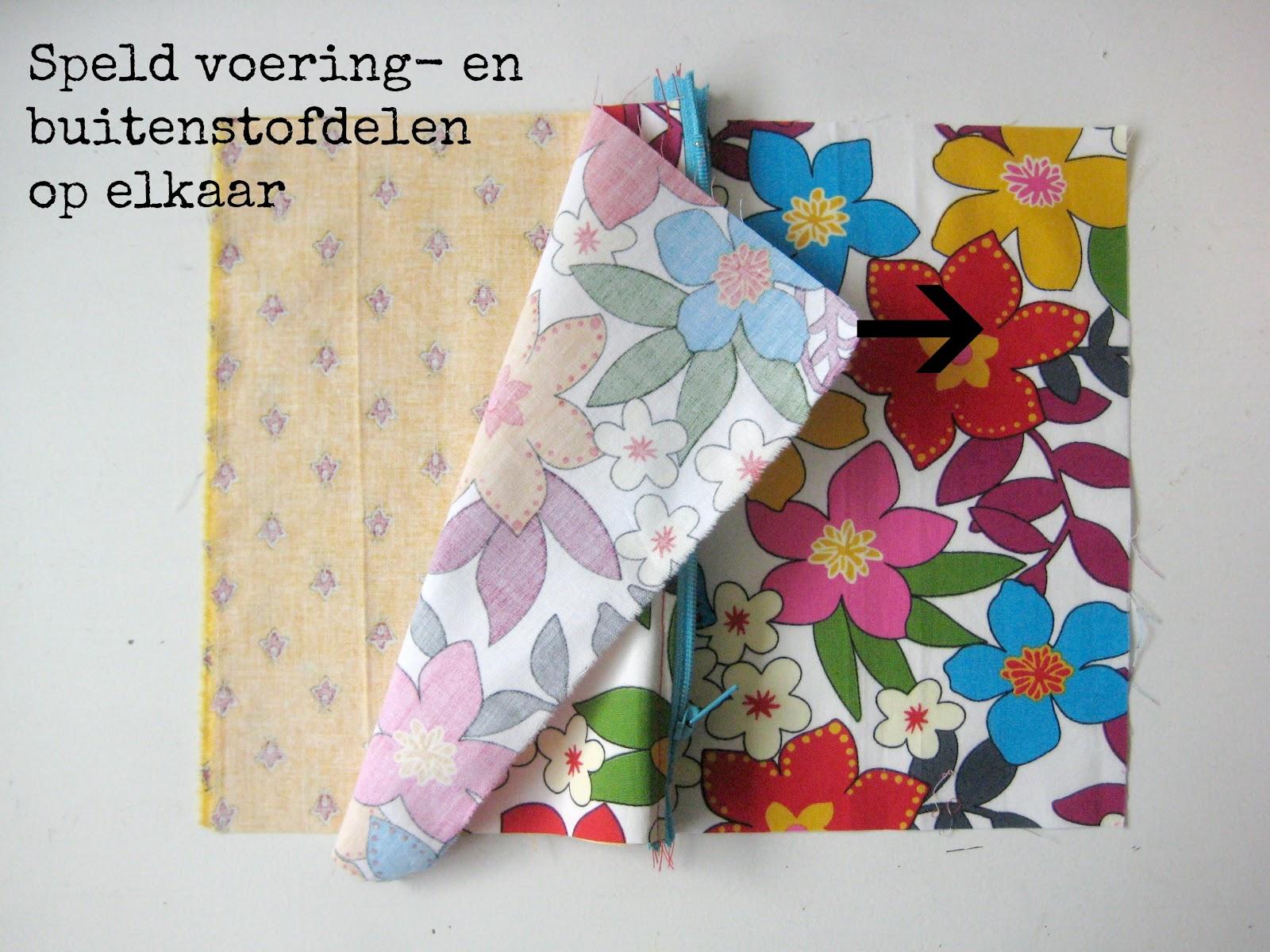 Bedwelming By MiekK: Naailes Voor Beginners 9: Etui Naaien &OE75