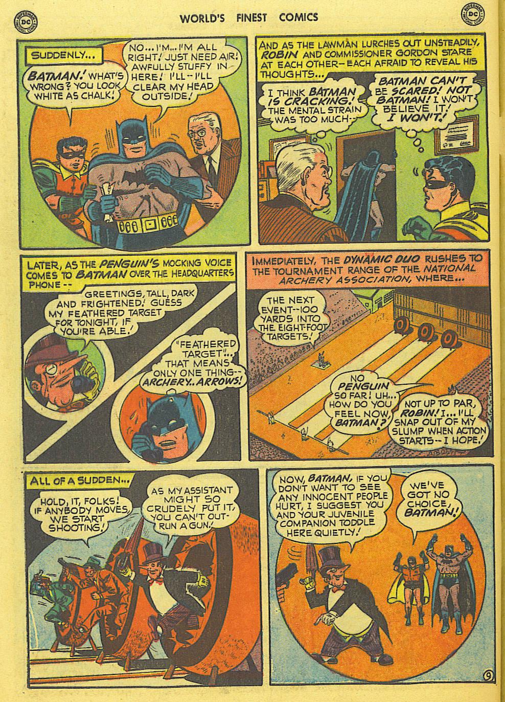 Read online World's Finest Comics comic -  Issue #49 - 71