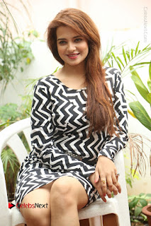 Actress Saloni Latest Pos in Short Dress  0196.JPG