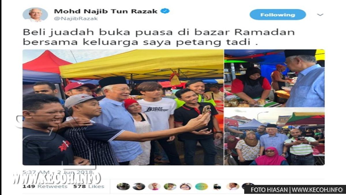Ramai Yang Merindu Zaman Najib