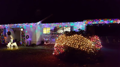 xmas light display