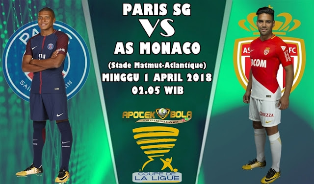 Prediksi Paris Saint Germain vs Monaco 1 April 2018