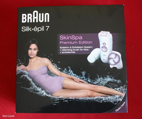 Braun Silk Epil 7 SkinSpa Premiun Edition