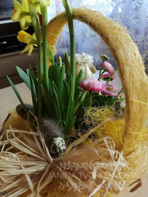 aranžmá, dekorace, velikonoční