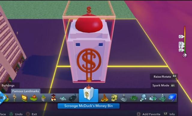 Skarbiec Sknerusa w grze Disney Infinity 2.0 - YT