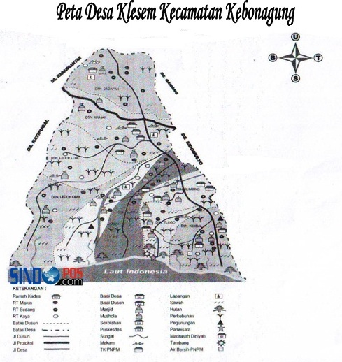 Profil Desa & Kelurahan, Desa Klesem Kecamatan Kebonagung Kabupaten Pacitan