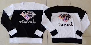 Jual Online Sweater My Diamond Couple Murah Jakarta Bahan Babytery Terbaru